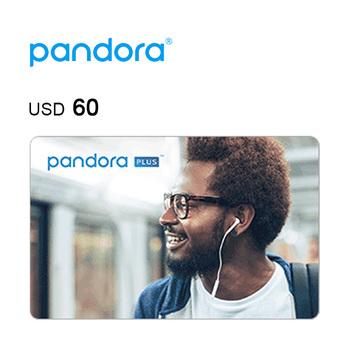 Pandora e-Gift Card $60