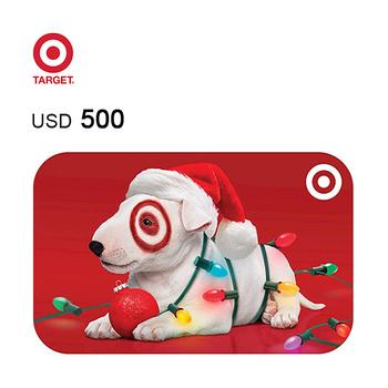Target e-Gift Card $500