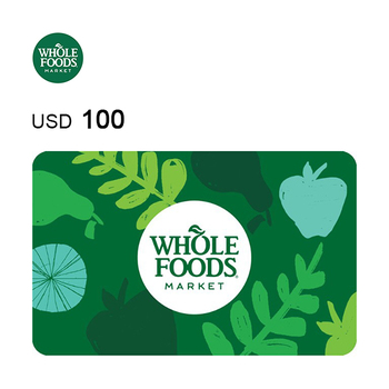 Whole Foods e-Gift Card $100