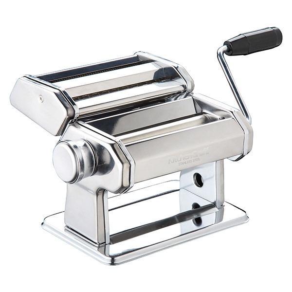 KitchenCraft Italian Deluxe Double-Cutter Pasta Machine Image