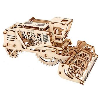 Ugears COMBINE HARVESTER 3D Wooden Puzzle 154pcs