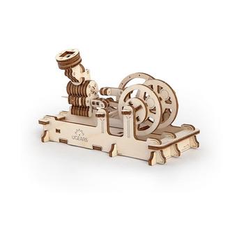 Ugears PNEUMATIC ENGINE 3D Wooden Puzzle 81pcs