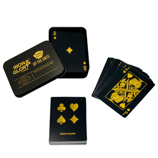 Iron & Glory UP THE ANTE Playing Cards - 2 Decks Image