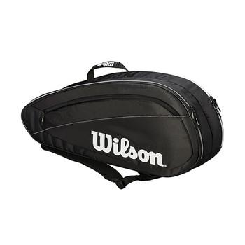 Wilson FED Team 6-Pack Tennis Bag - 2018