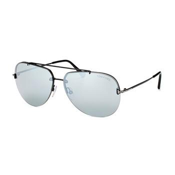 Tom Ford Aviator Unisex Sunglasses FT-058412C63