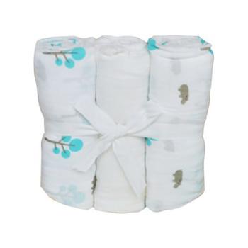JustEssentials Muslin Wrap Set 3pcs