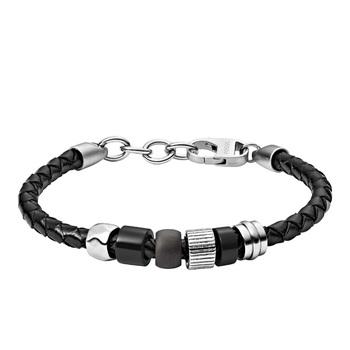 Fossil VINTAGE Casual Men's Leather Bracelet
