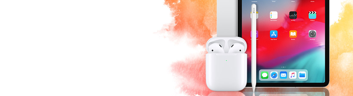 Take home all new Apple products on us!